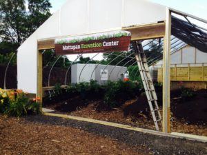 Compost Heat Wagon at City Soil and Greenhouse July2015